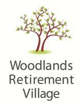 Woodlands brochure from logo